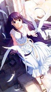 Grisaia no Kajitsu Yumiko Sakaki.Magic THL W300 wallpaper 1080x1920
