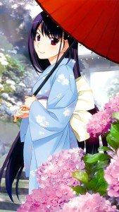 Grisaia no Kajitsu Yumiko Sakaki.iPod 5 wallpaper 640x1136