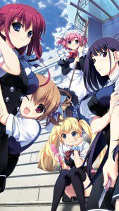 Grisaia no Kajitsu.iPhone 5 wallpaper 640x1136