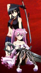 Akame ga Kill lock screen wallpaper Akame and Mine