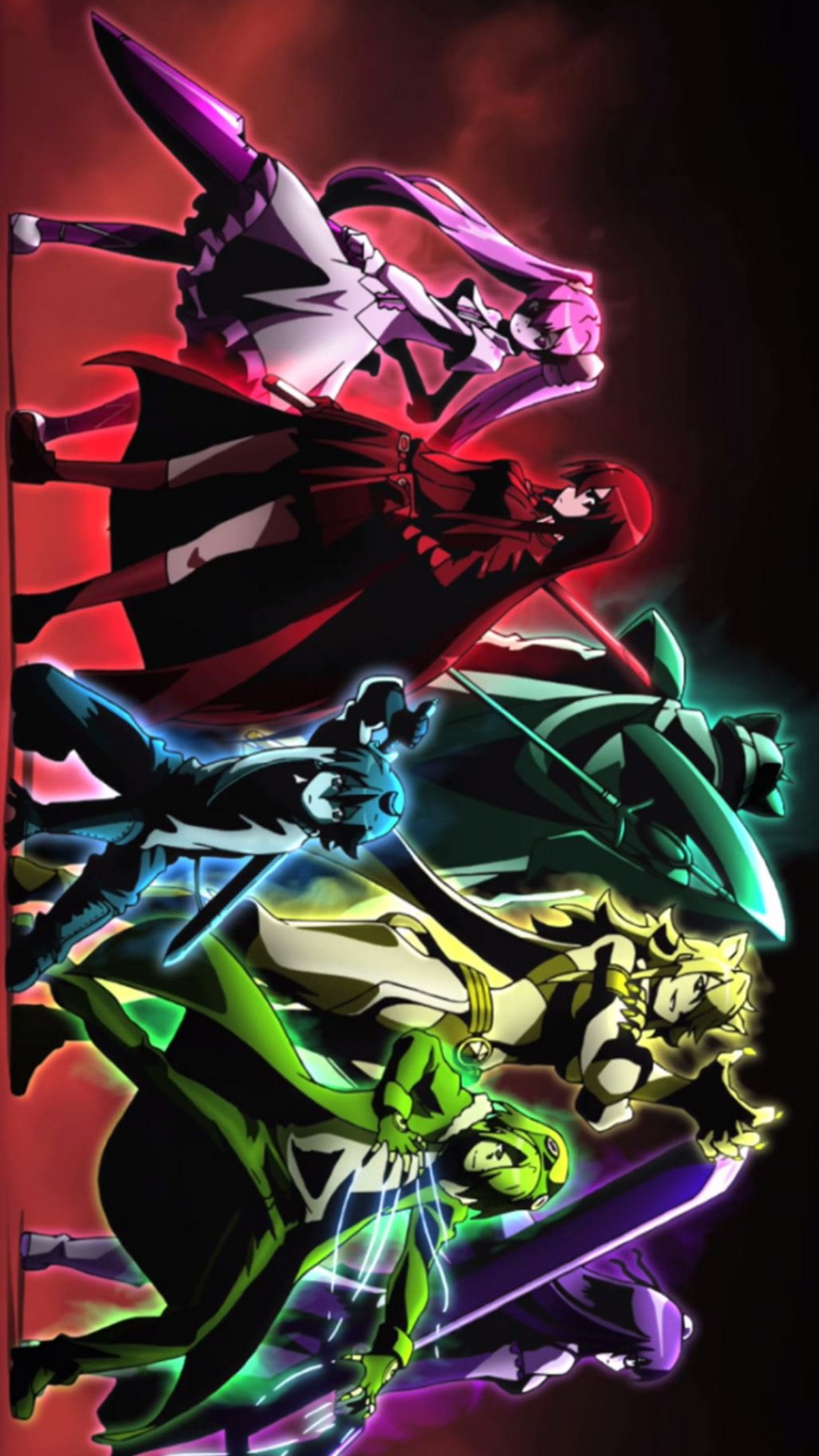 Akame Ga Kill Iphone And Android Wallpapers
