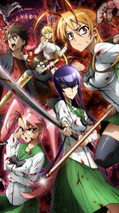 Highschool of the Dead 1080x1920
