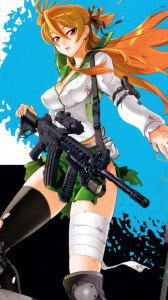 Highschool of the Dead Rei Miyamoto wallpaper 750x1334