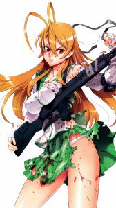 Highschool of the Dead Rei Miyamoto.Magic THL W9 wallpaper 1080x1920