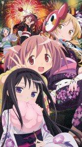 Mahou Shoujo Madoka Magica Madoka Kaname Homura Akemi Mami Tomoe.Sony Xperia Z wallpaper 1080x1920
