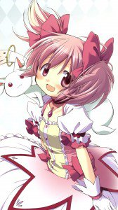 Mahou Shoujo Madoka Magica Madoka Kaname.HTC One wallpaper 1080x1920