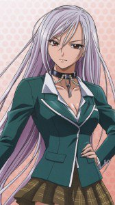 Rosario plus Vampire Moka Akashiya.iPhone 6 Plus wallpaper 1080x1920