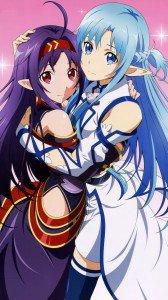Sword Art Online 2 Asuna Yuuki Kono.HTC One wallpaper 1080x1920