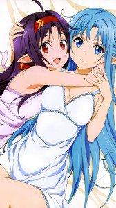 Sword Art Online 2 Asuna Yuuki Kono.Samsung Galaxy S4 wallpaper 1080x1920