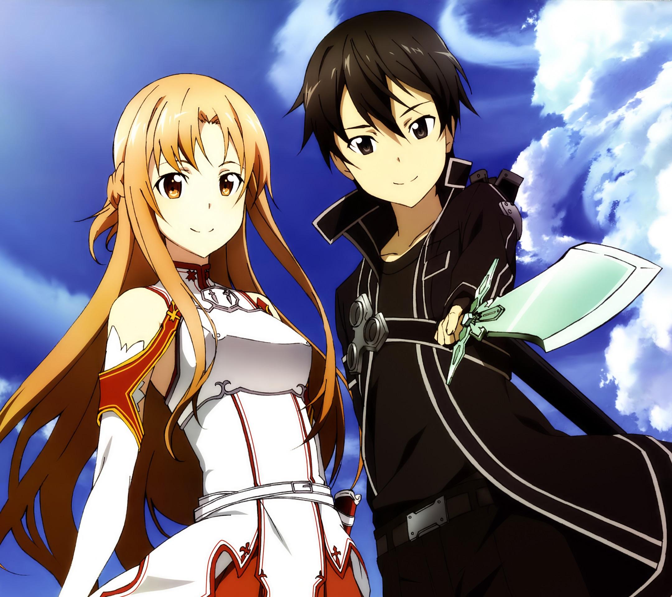 Sword Art Online 2 Kirito AsunaAndroid Wallpaper 2160x1920