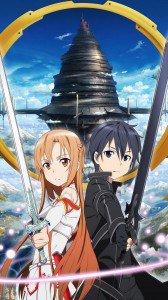 Sword Art Online 2 Kirito Asuna.Sony Xperia Z wallpaper 1080x1920