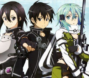 Sword Art Online 2 Kirito Sinon.Android wallpaper 2160x1920