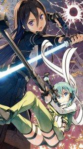 Sword Art Online 2 Kirito Sinon.Sony Xperia Z wallpaper 1080x1920