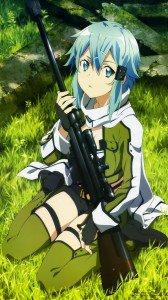 Sword Art Online 2 Sinon 1080x1920