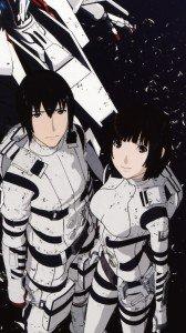 Knights of Sidonia Nagate Tanikaze Shizuka Hoshijiro 1080x1920