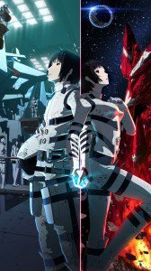Knights of Sidonia Nagate Tanikaze Shizuka Hoshijiro.Samsung Galaxy S4 wallpaper 1080x1920