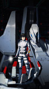Knights of Sidonia Nagate Tanikaze.Lenovo K900 wallpaper 1080x1920