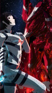 Knights of Sidonia Shizuka Hoshijiro.iPhone 6 wallpaper 750x1334