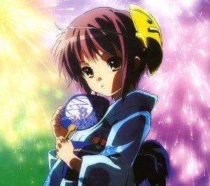Melancholy of Haruhi Suzumiya Haruhi Suzumiya.Android wallpaper 2160x1920
