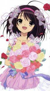 Melancholy of Haruhi Suzumiya Haruhi Suzumiya.Magic THL W8 wallpaper 1080x1920