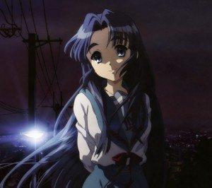 Melancholy of Haruhi Suzumiya Ryoko Asakura.Android wallpaper 2160x1920