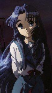 Melancholy of Haruhi Suzumiya Ryoko Asakura.Sony Xperia Z wallpaper 1080x1920