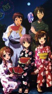 Melancholy of Haruhi Suzumiya.Sony Xperia Z wallpaper 1080x1920