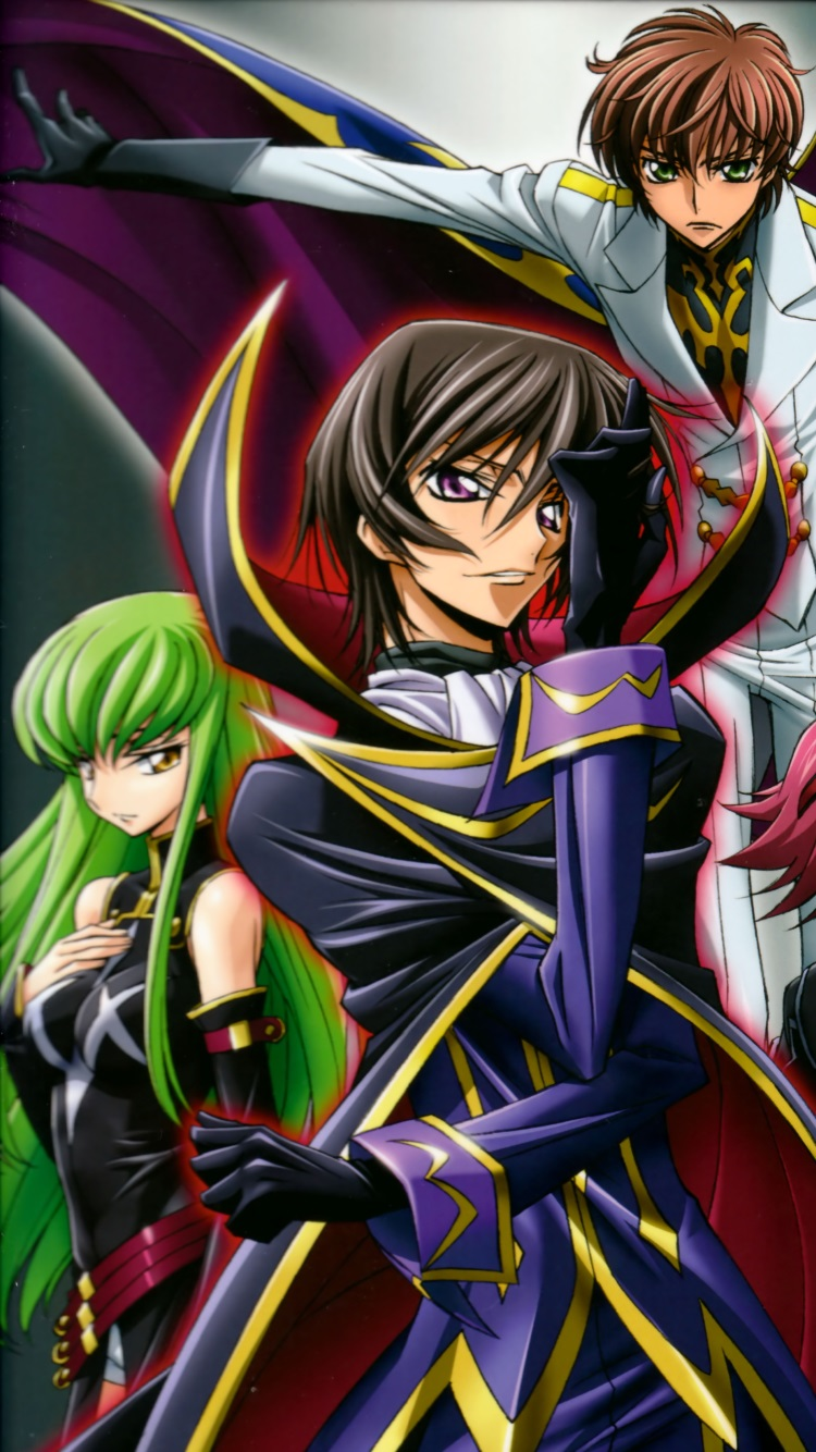 Code Geass Wallpapers For Iphone And Android