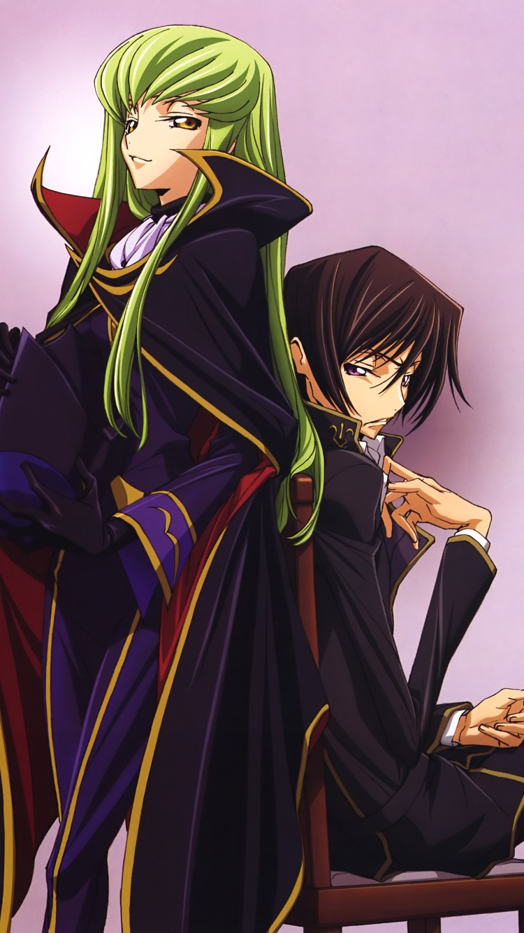 Code Geass C C Lelouch Lamperouge Iphone 6 Wallpaper 750 1334 2