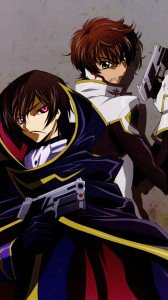 Code Geass Lelouch Lamperouge and Suzaku Kururugi iPhone 6 wallpaper 750x1334