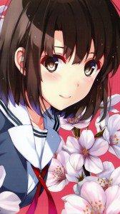 Saenai Heroine no Sodatekata Megumi Kato.LG D802 Optimus G2 wallpaper 1080x1920
