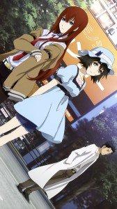 Steins Gate Kurisu Makise Mayuri Shiina Rintaro Okabe.Samsung Galaxy Note 3 wallpaper 1080x1920