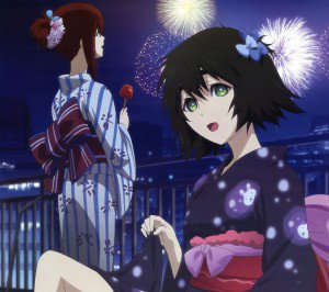 Steins Gate Kurisu Makise Mayuri Shiina.Android wallpaper 2160x1920