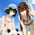 Kurisu Makise and Mayuri Shiina smartphone wallpapers. Faris Nyannyan, Ruka Urushibara and Rintaro Okabe lock screen images. Moeka Kiryu and Suzuha Amane android and iPhone wallpapers. Android wallpapers 2160x1920 HD...