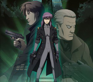Ghost in the Shell Motoko Kusanagi Batou Togusa.Android wallpaper 2160x1920