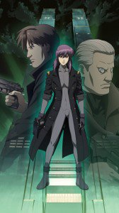 Ghost in the Shell Motoko Kusanagi Batou Togusa.Sony Xperia Z wallpaper 1080x1920