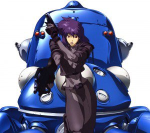 Ghost in the Shell Motoko Kusanagi.Android wallpaper 2160x1920