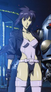 Ghost in the Shell Motoko Kusanagi.Lenovo K900 wallpaper 1080x1920