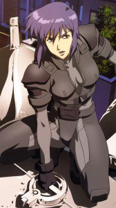 Ghost in the Shell Motoko Kusanagi.Sony Xperia Z wallpaper 1080x1920