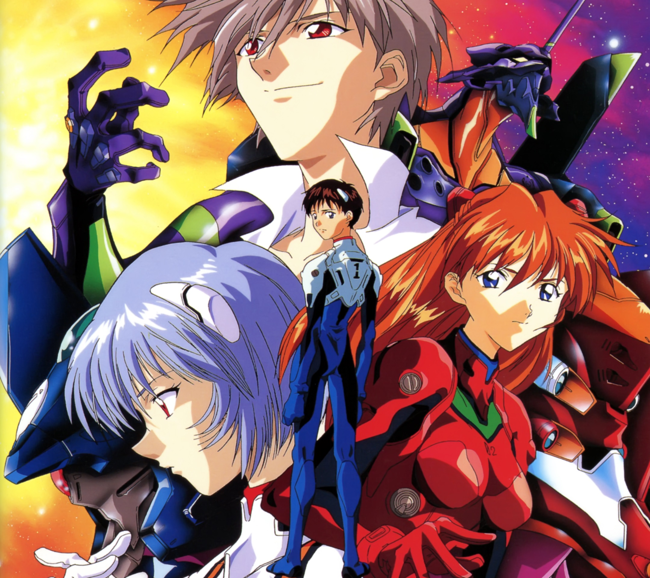 Evangelion Android Wallpapers 2160x1920