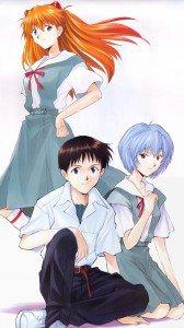 Neon Genesis Evangelion Asuka Langley Soryu Misato Katsuragi Rei Ayanami Shinji Ikari 1080x1920