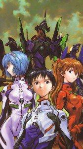 Neon Genesis Evangelion Asuka Langley Soryu Rei Ayanami Shinji Ikari 1080x1920