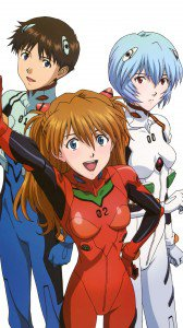 Neon Genesis Evangelion Asuka Langley Soryu Rei Ayanami Shinji Ikari.iPhone 6 Plus wallpaper 1080x1920