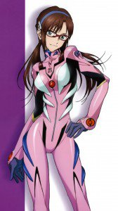 Neon Genesis Evangelion Mari Illustrious Makinami.HTC One wallpaper 1080x1920