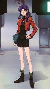 Neon Genesis Evangelion Misato Katsuragi 1080x1920