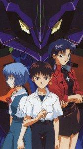 Neon Genesis Evangelion Misato Katsuragi Rei Ayanami Shinji Ikari.HTC One wallpaper 1080x1920