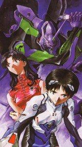 Neon Genesis Evangelion Misato Katsuragi Shinji Ikari.Samsung Galaxy Note 3 wallpaper 1080x1920