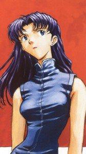 Neon Genesis Evangelion Misato Katsuragi.iPhone 6 Plus wallpaper 1080x1920