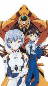 Neon Genesis Evangelion Rei Ayanami Shinji Ikari 1080x1920