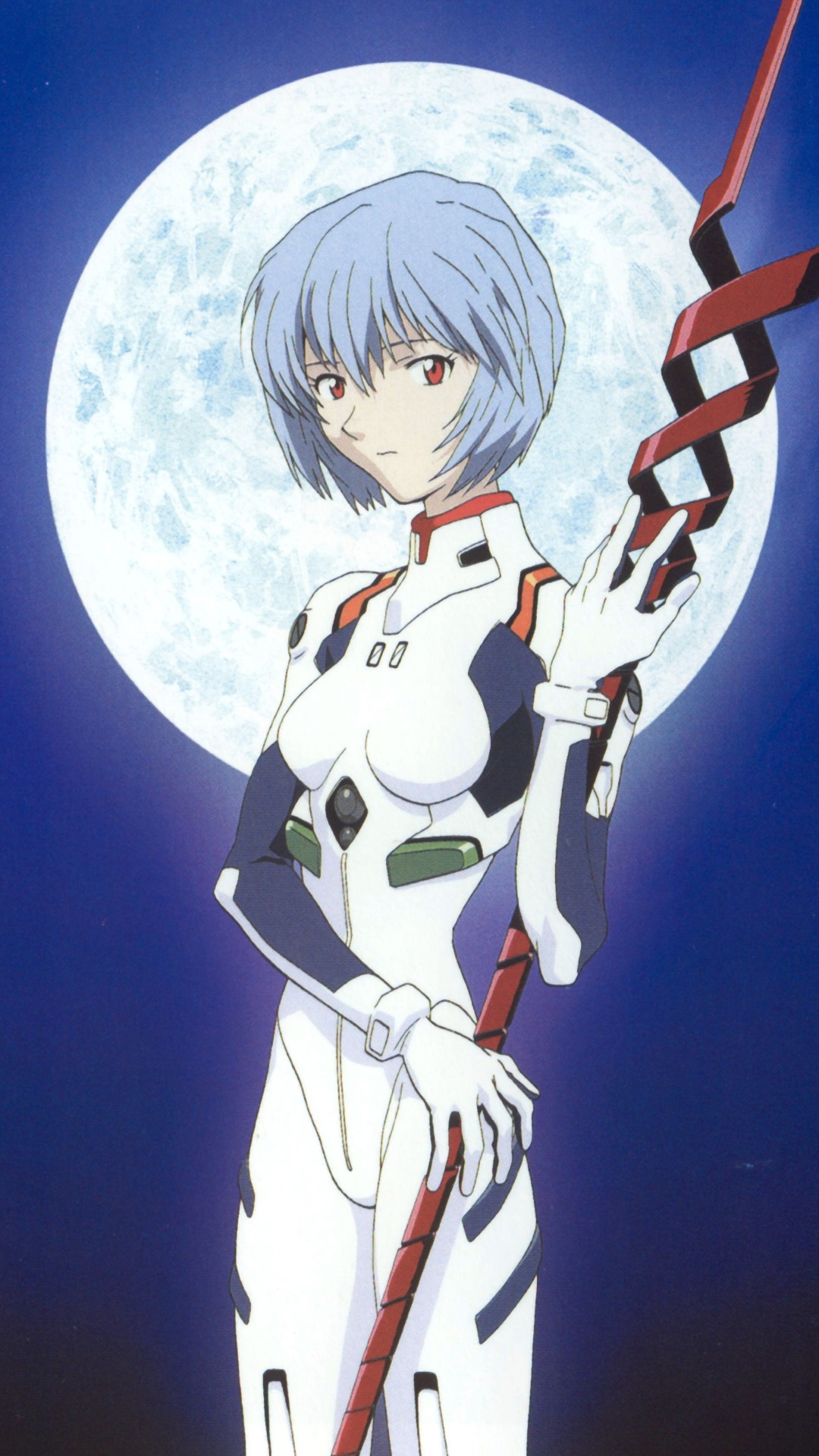 Neon Genesis Evangelion Rei Ayanami Iphone 6 Plus Wallpaper 1080x1920 on coolest iphone wallpapers